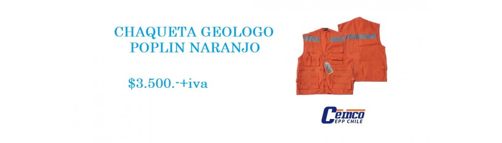 Chaqueta Geologo